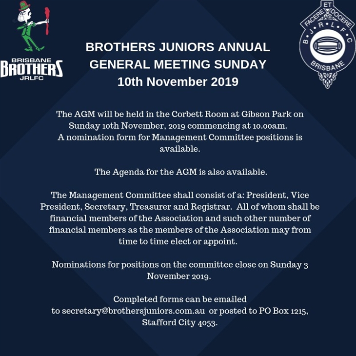 Brothers AGM 2019