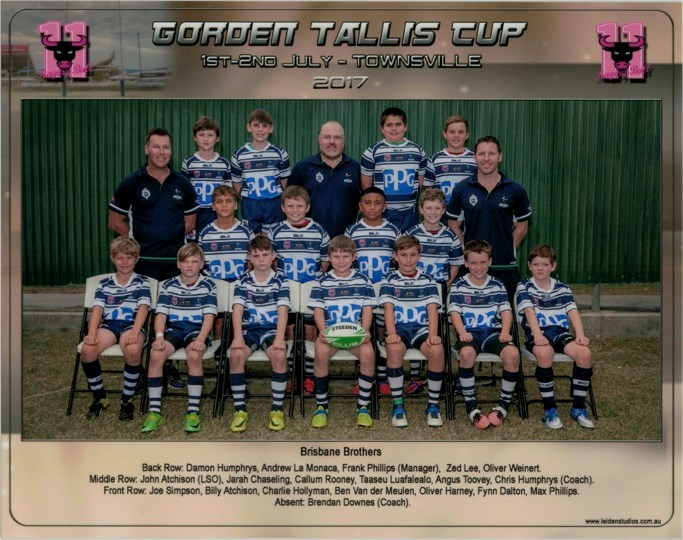 U10  Gordon  Tallis  Cup PHOTO